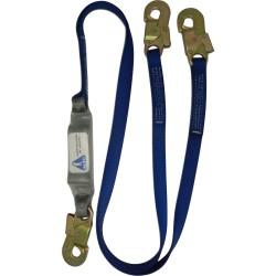 Cable contra caidas doble gancho C11P Alto