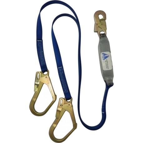 Cable contra caidas doble gancho C11PG Alto