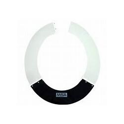 Protector solar MSA para casco ala ancha