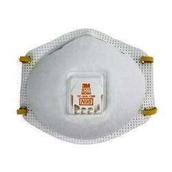 Respirador desechable 3M Mod 8511 c valvula
