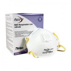 Respirador desechable HY8812 derma Polvos c valvula