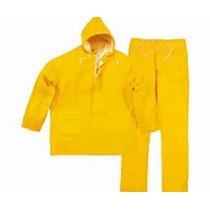 Impermeable conjunto amarillo nylon derma I6022