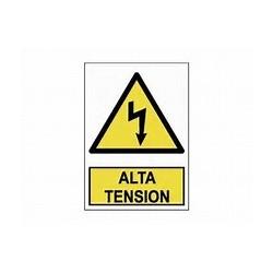Señal Alta tension 20x25