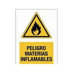 Señales Material Inflamable 20x25